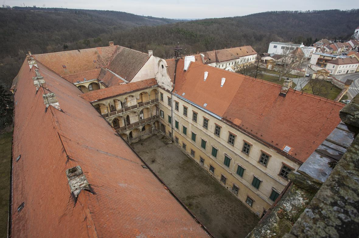 Zámek v Moravském Krumlově