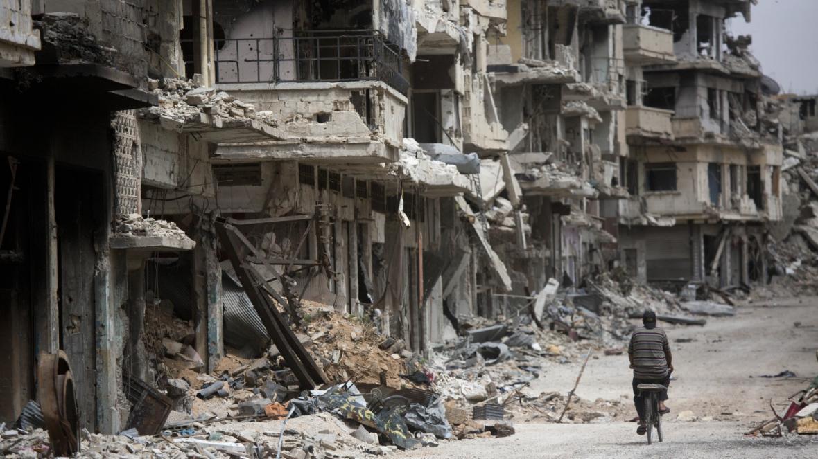 Zdevastovaná Sýrie