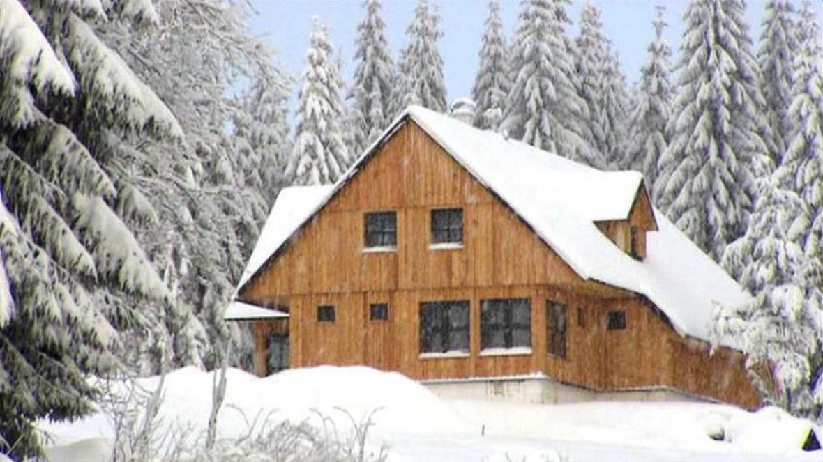 Chata postavená v Jizerských horách firmou Pavla Béma
