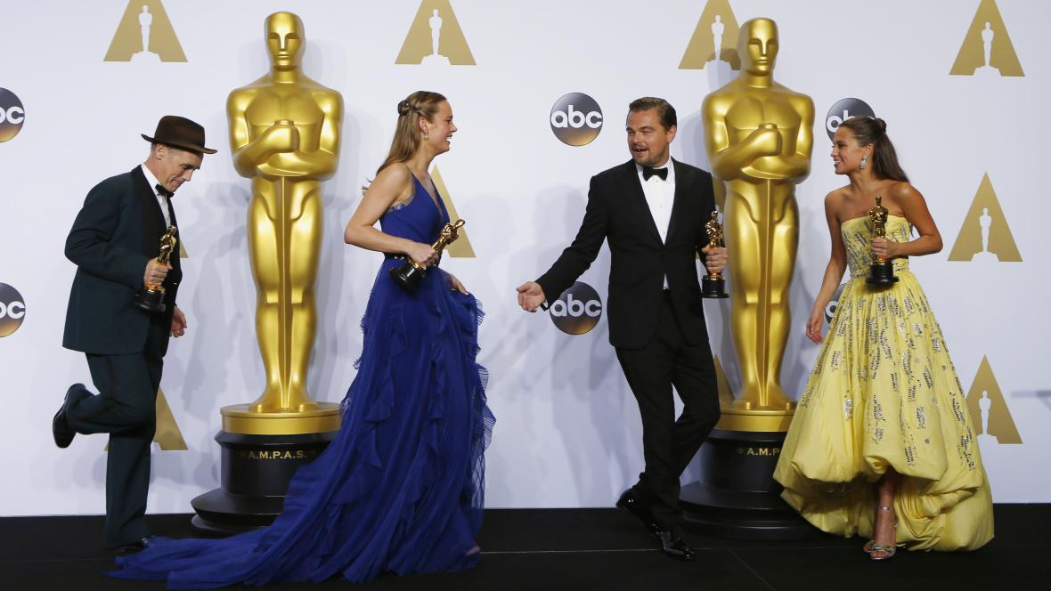 Herečtí držitelé Oscara za rok 2015