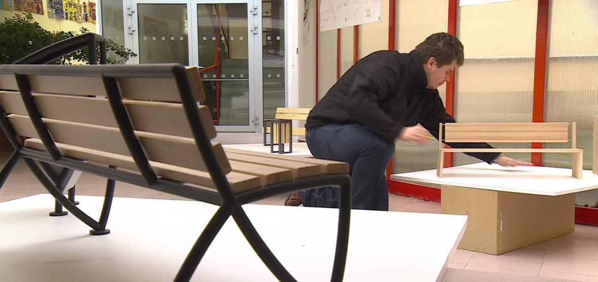 Nový mobiliář pro Šlapanice navrhují studenti