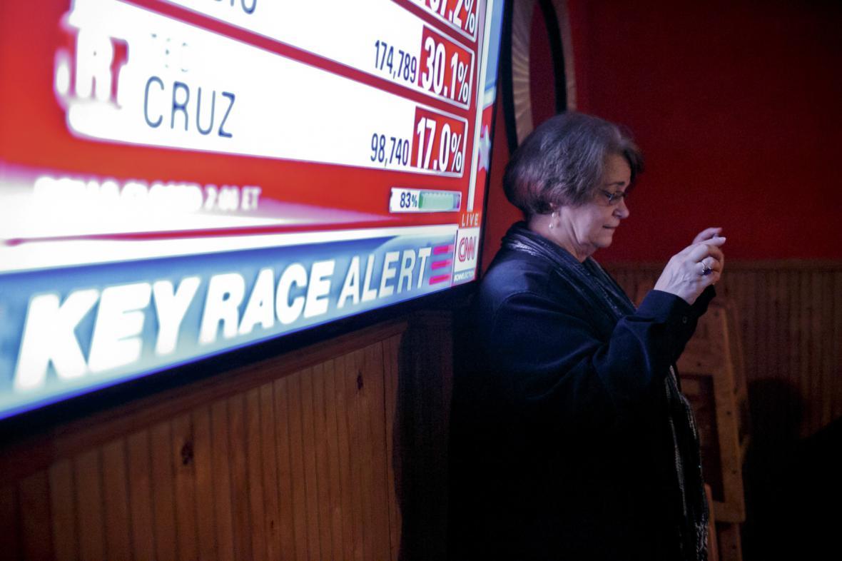 Amerikou se přehnala jednodenní volební vlna