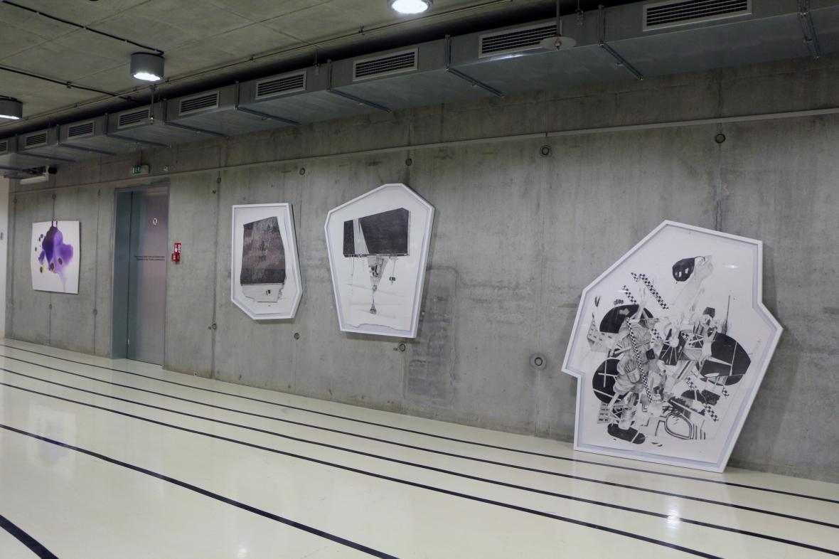 Výstava Shaped Canvas