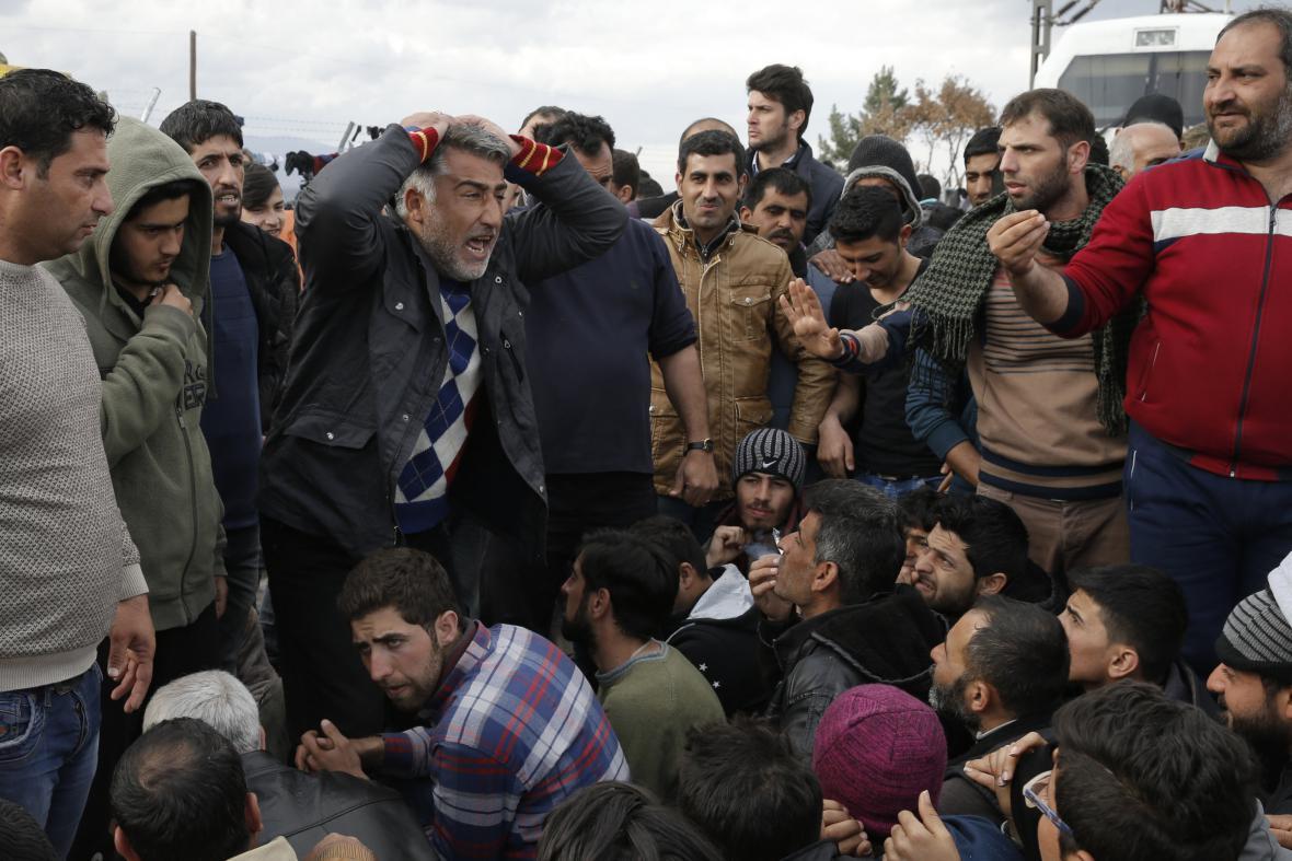 Situace na makedonsko-řecké hranici