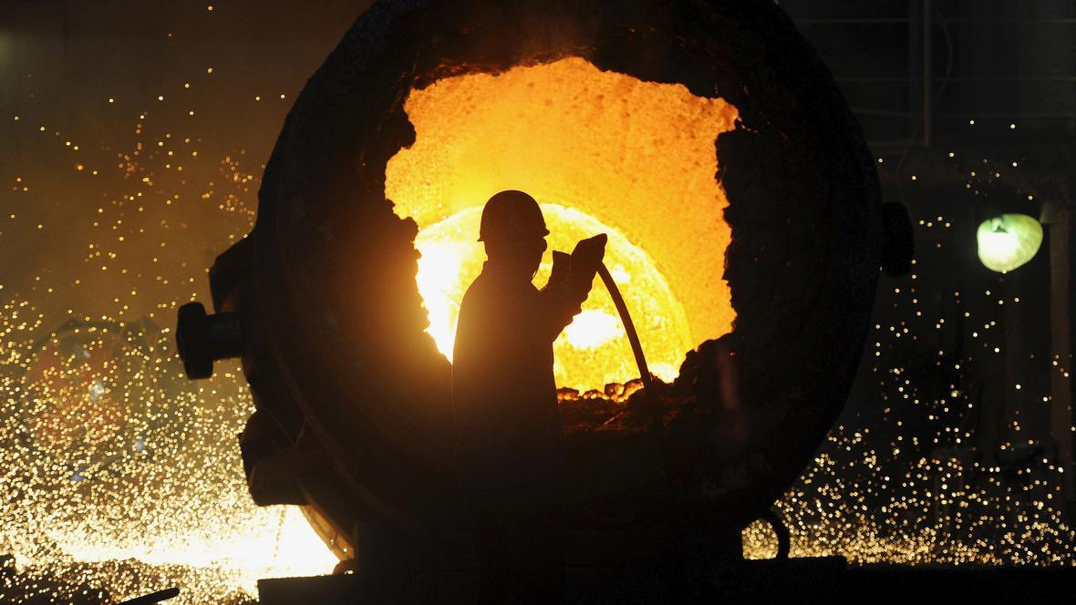 Čínský ocelářský průmysl