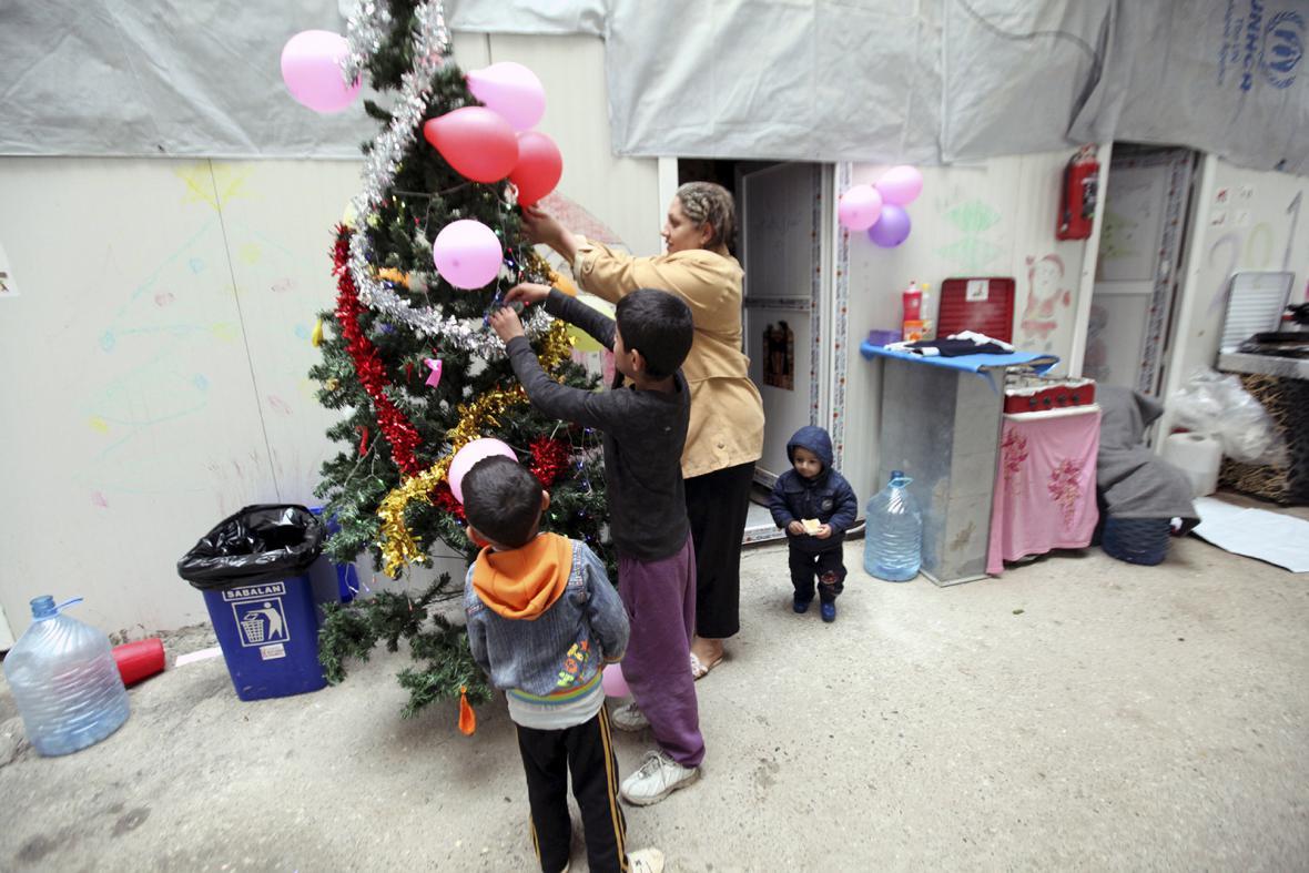 Background uprchlíků v Brně