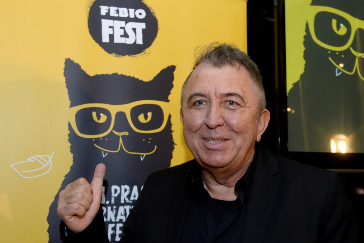 Prezident festivalu Fero Fenič