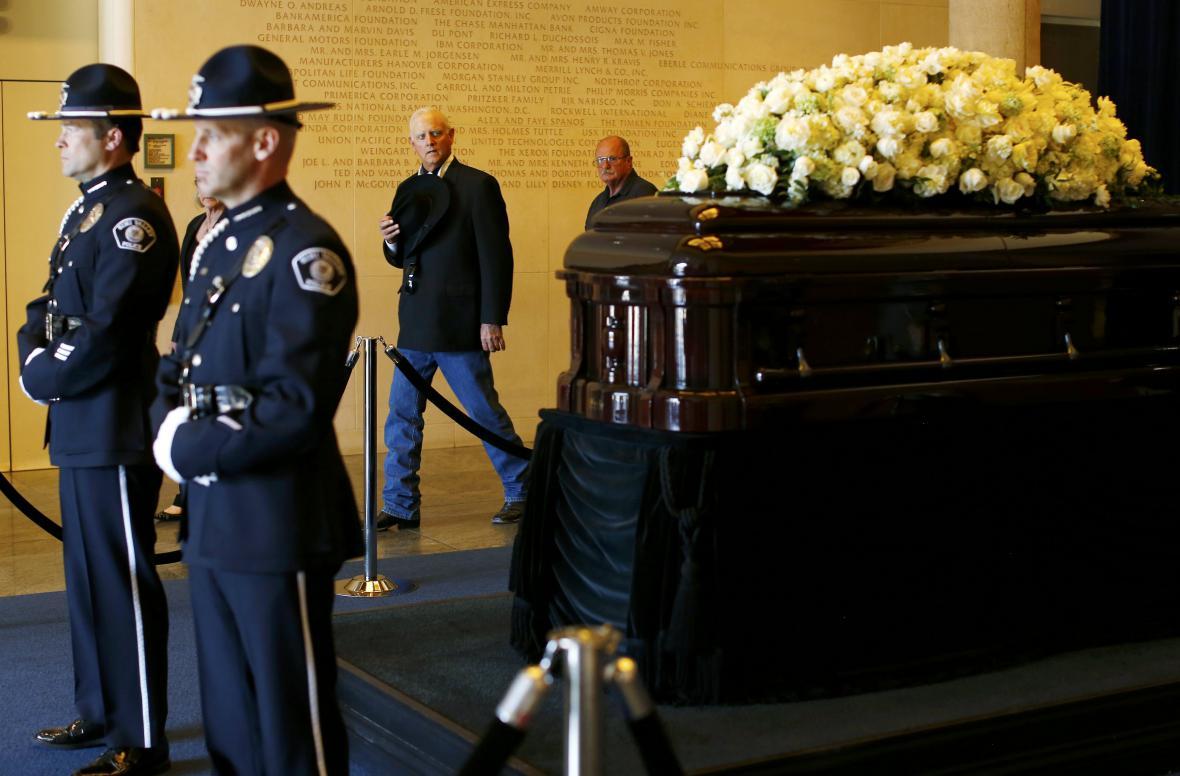 Pohřeb Nancy Reaganové