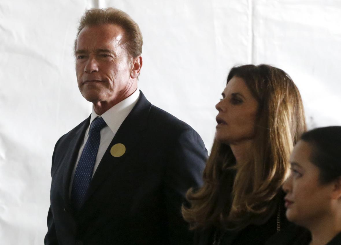 Pohřbu Nancy Reaganové se účastnil i Arnold Schwarzenegger