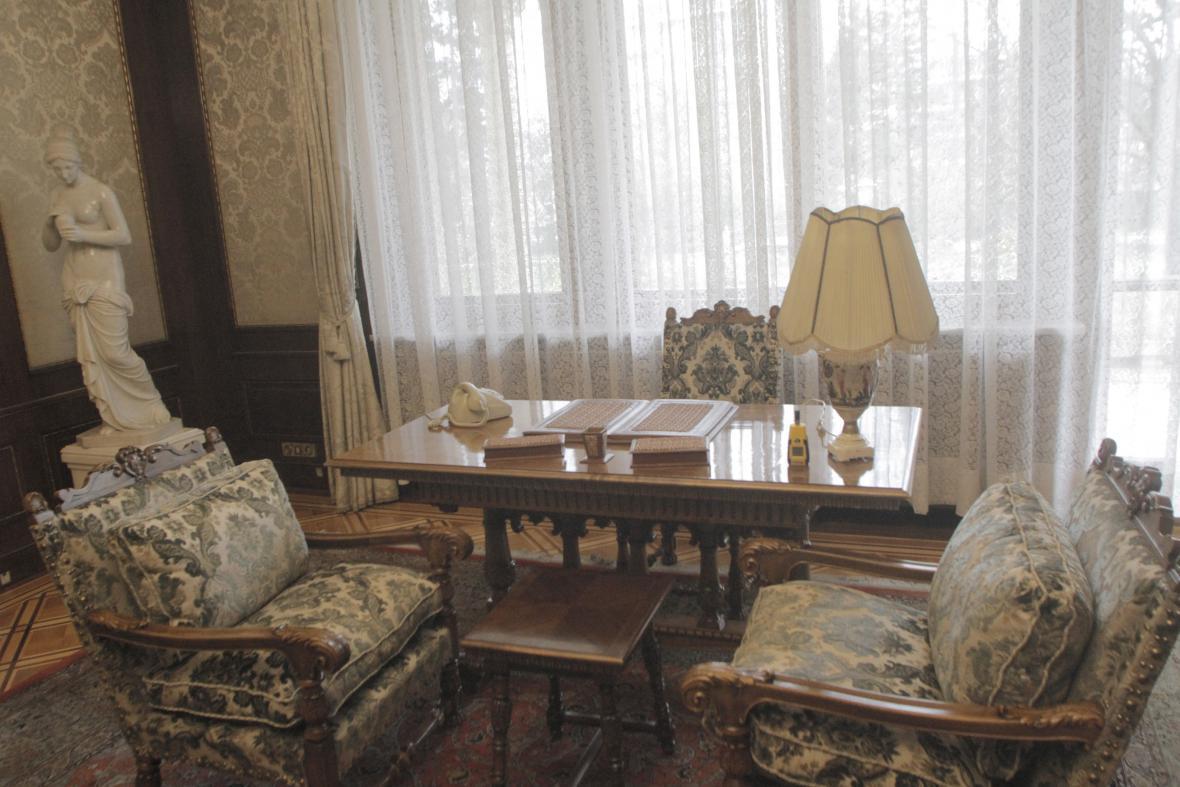 Z Ceaučeskova Jarního paláce je muzeum