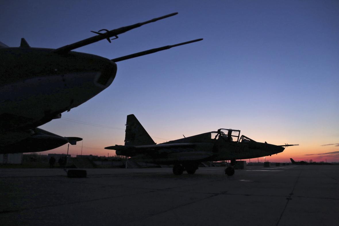 Většina ruských sil dává Sýrii vale