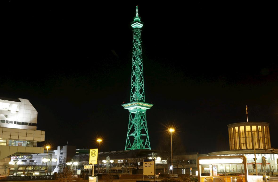 Rádiová věž Funkturm v Berlíně
