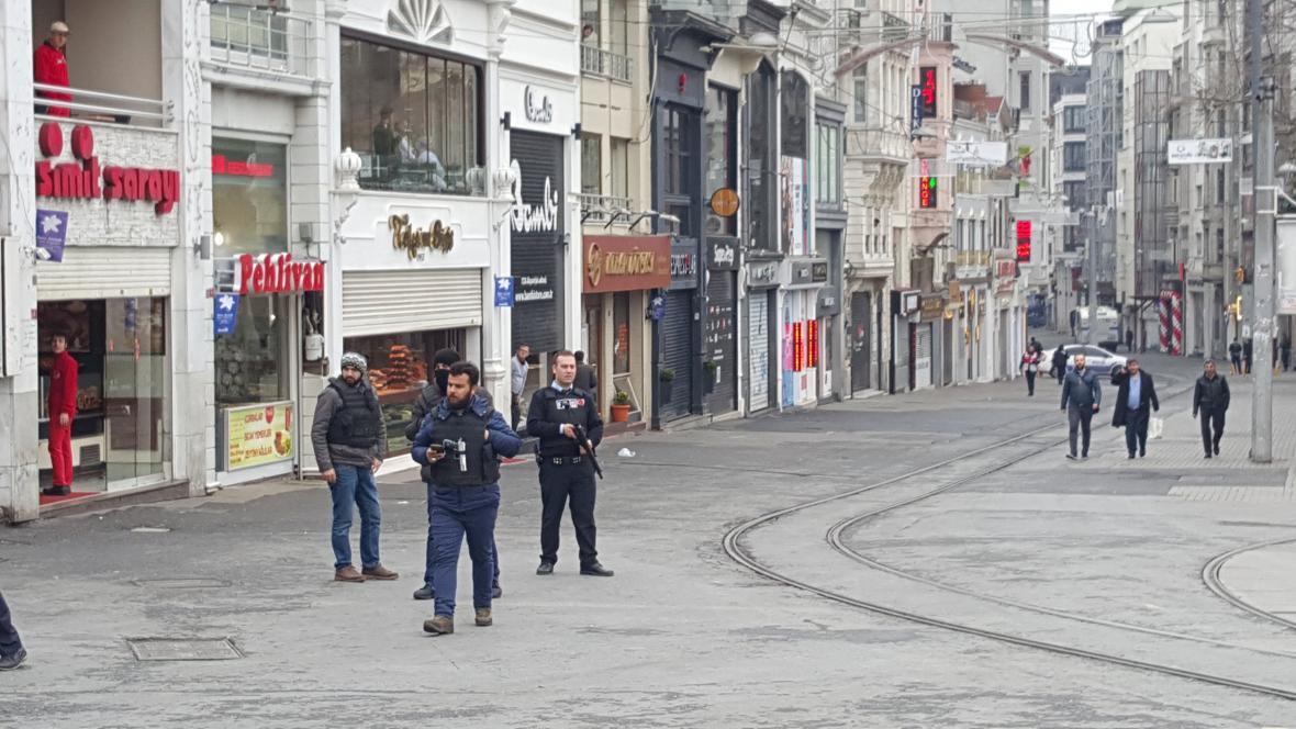 Sebevražedný útok v Istanbulu