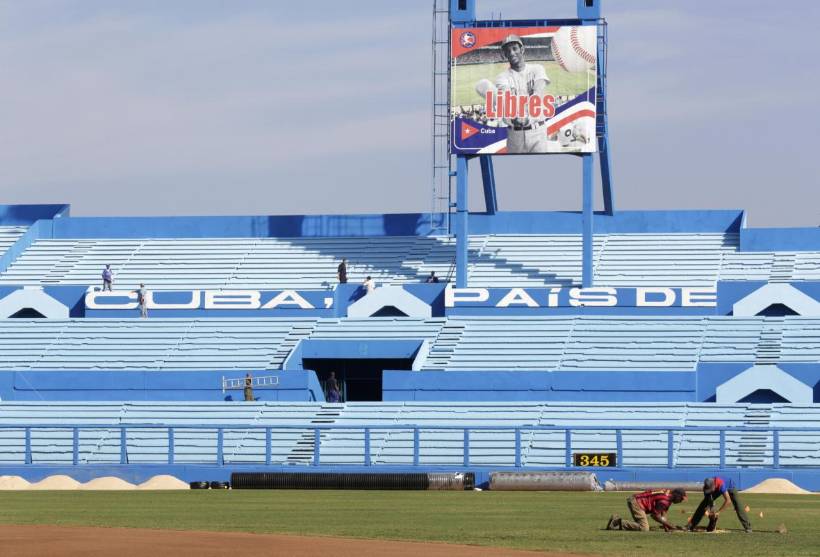 Kuba přivítá amerického prezidenta i svou chloubou - baseballem