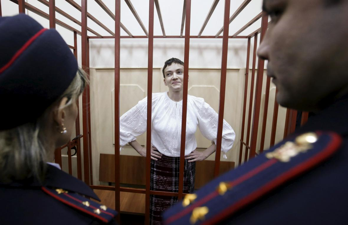 Kontroverzní případ ukrajinské pilotky