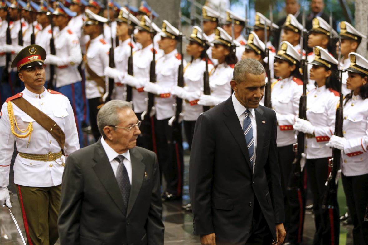 Obama na Kubě