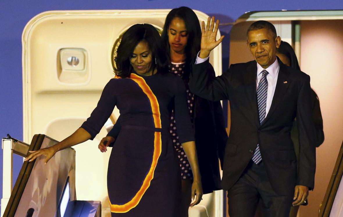 Obama dorazil na návštěvu Argentiny