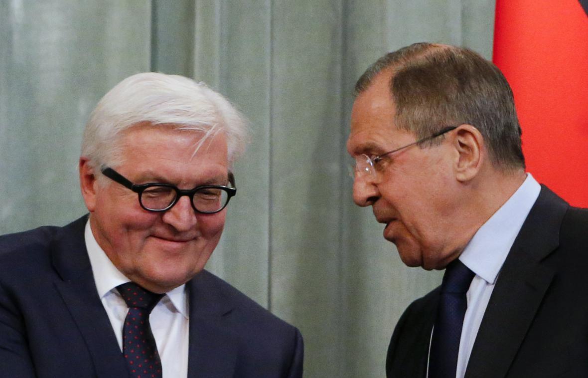 Frank-Walter Steinmeier s Sergej Lavrov