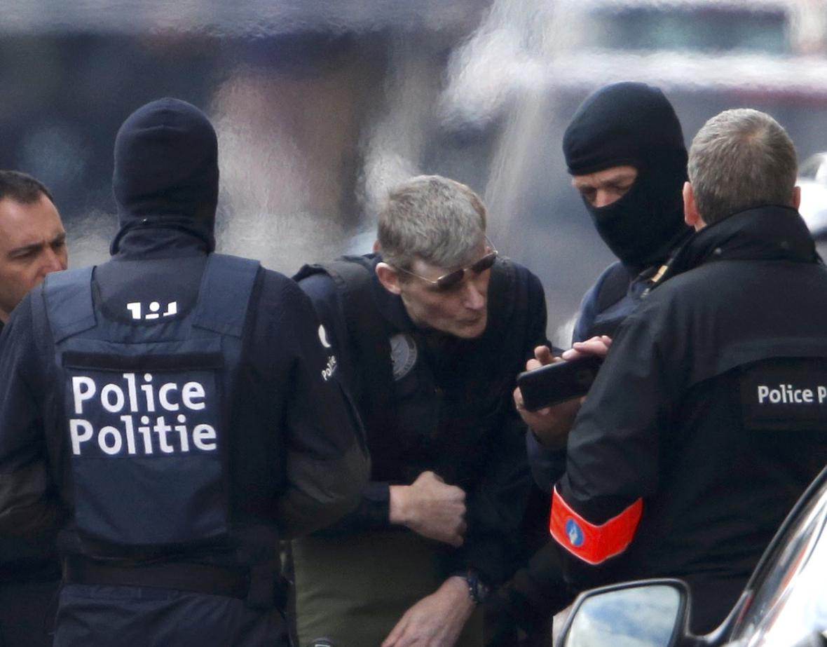 Policejní zásah v Schaarbeeku