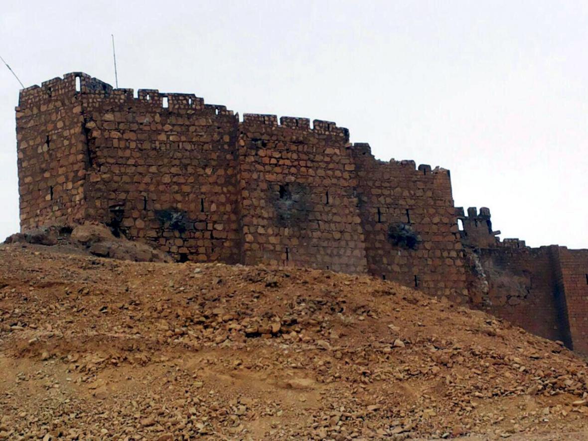 Stará pevnost v Palmýře je v držení syrských vládních jednotek