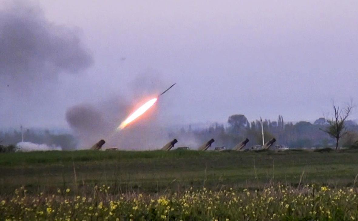 Boje v oblasti Náhorního Karabachu