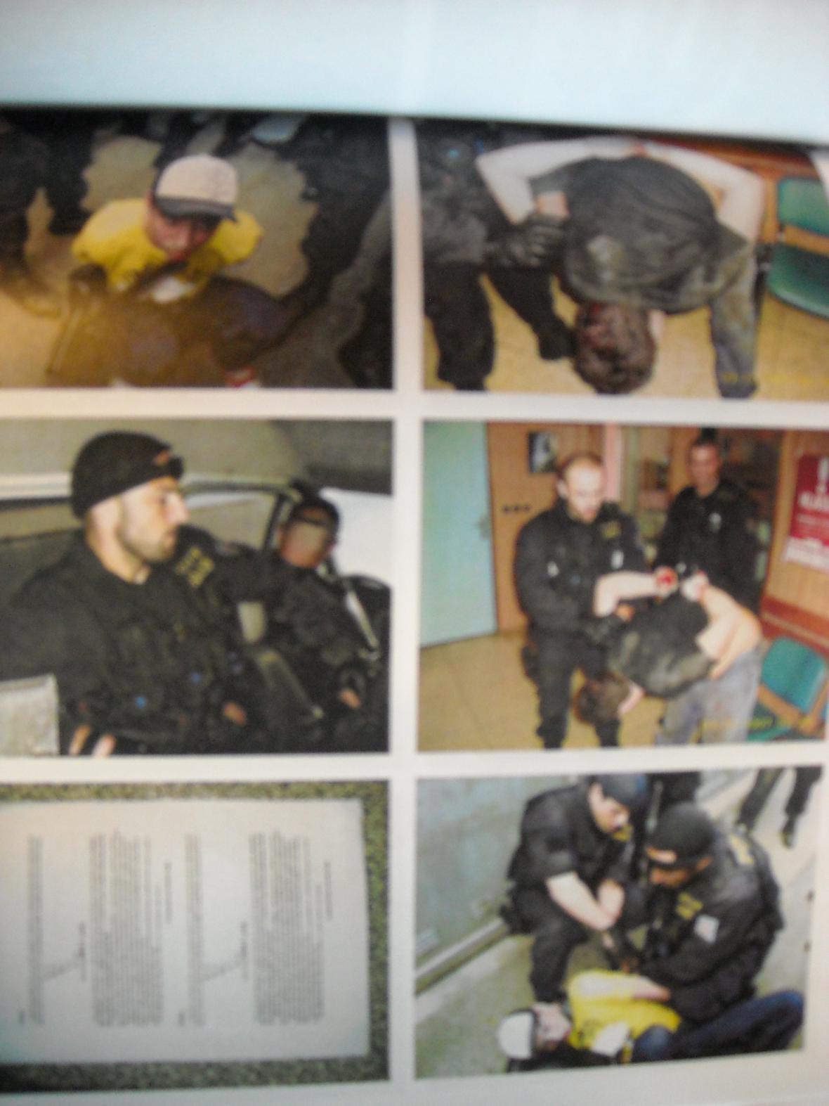 Elitní policisté soutěžili v tvrdosti zásahů proti zatýkaným