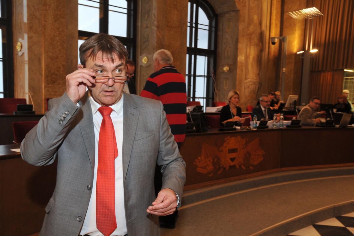 Primátor Brna Petr Vokřál (ANO) jednal s opoziční ČSSD, lidovci budou také