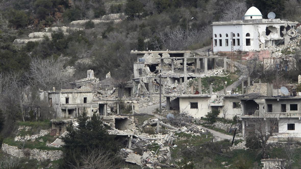Následky války v Sýrii v provincii Latákíja