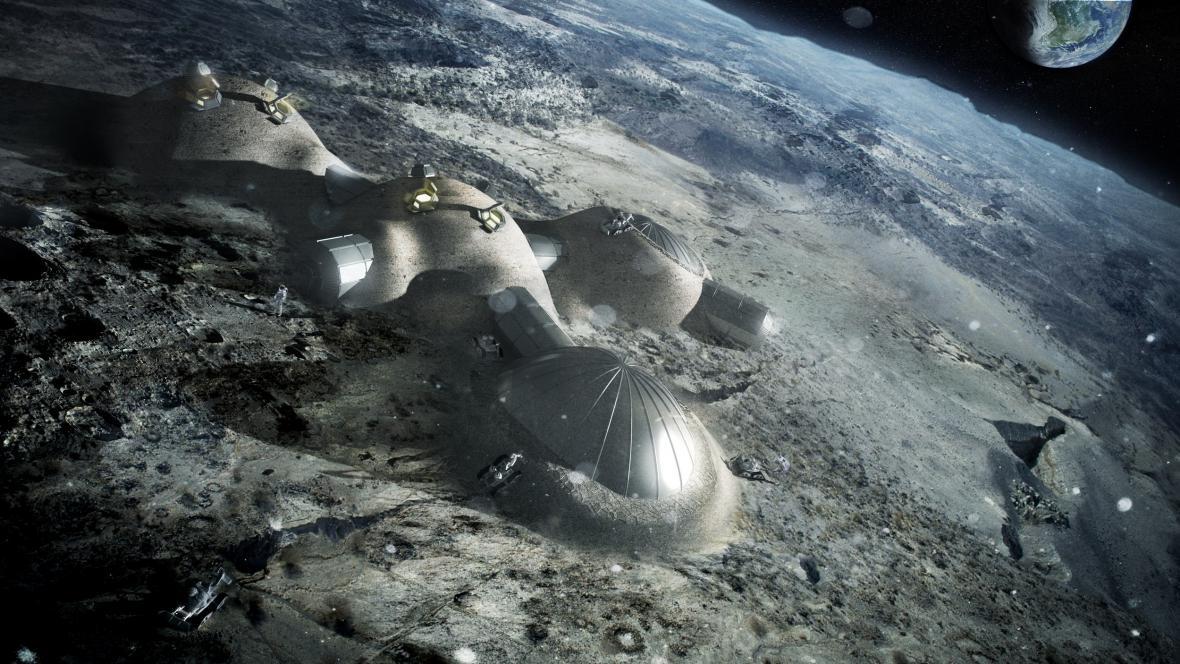 Vesnice na Měsíci