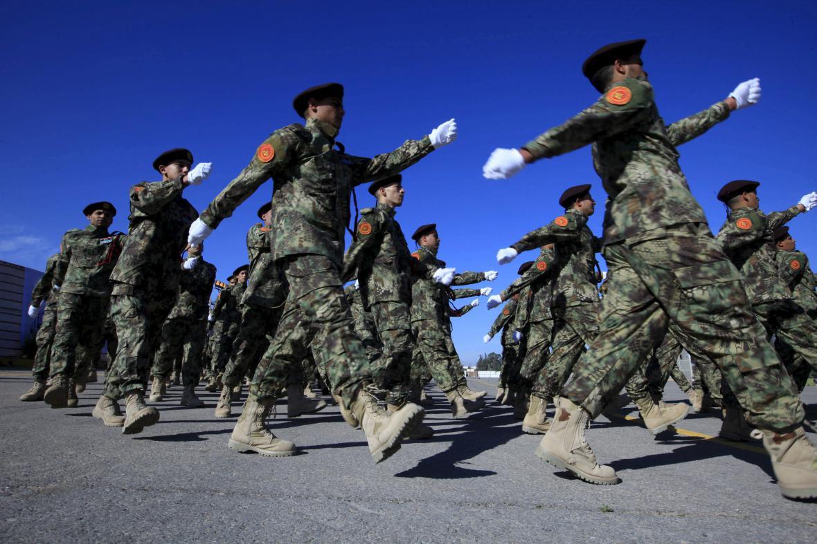 Pochod libyjských vojáků