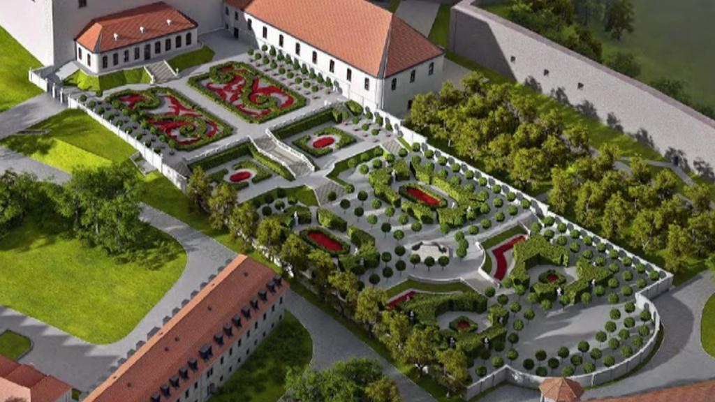 Přestavba Bratislavského hradu