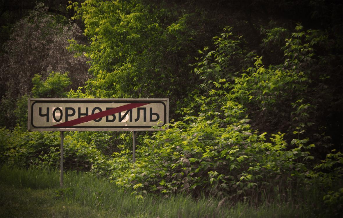 Opuštěné ukrajinské město Pripjať desítky let po jaderné katastrofě