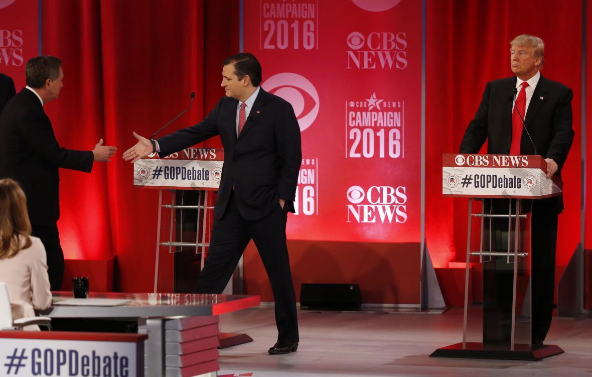 Prezidentská debata republikánů