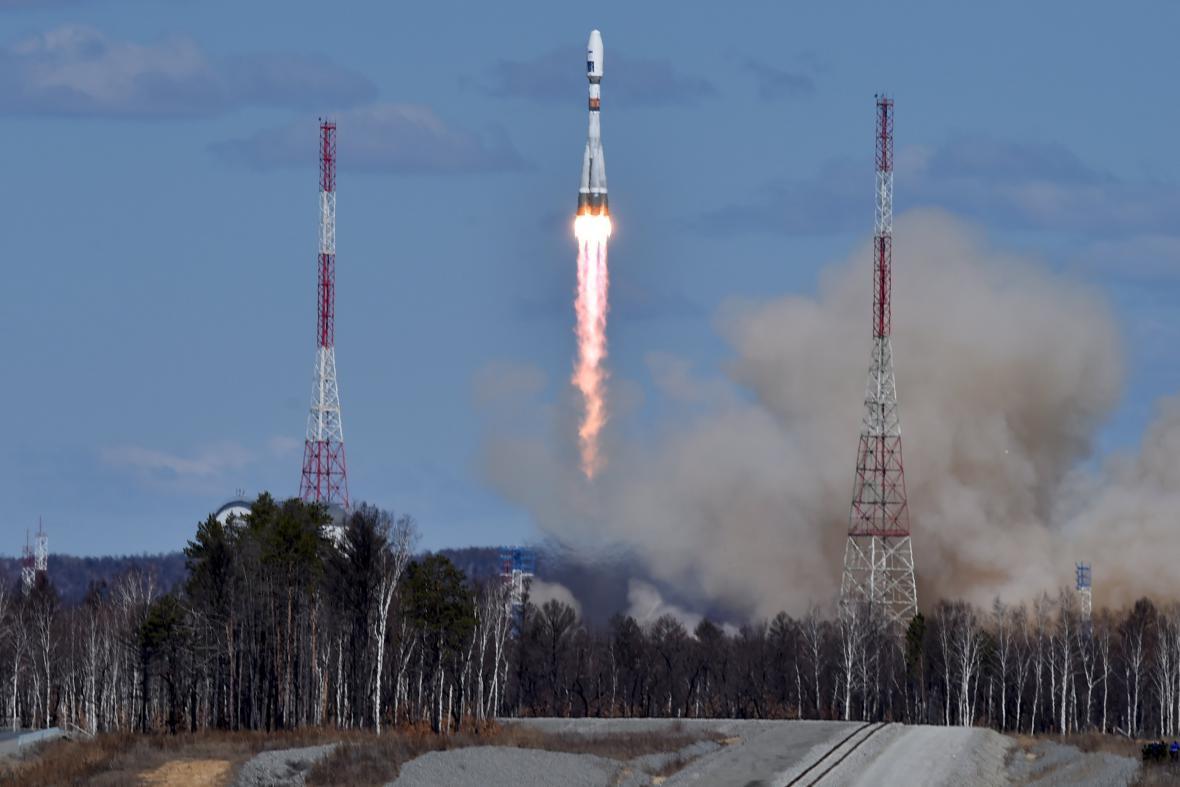 Rusko úspěšně otestovalo nový kosmodrom Vostočnyj