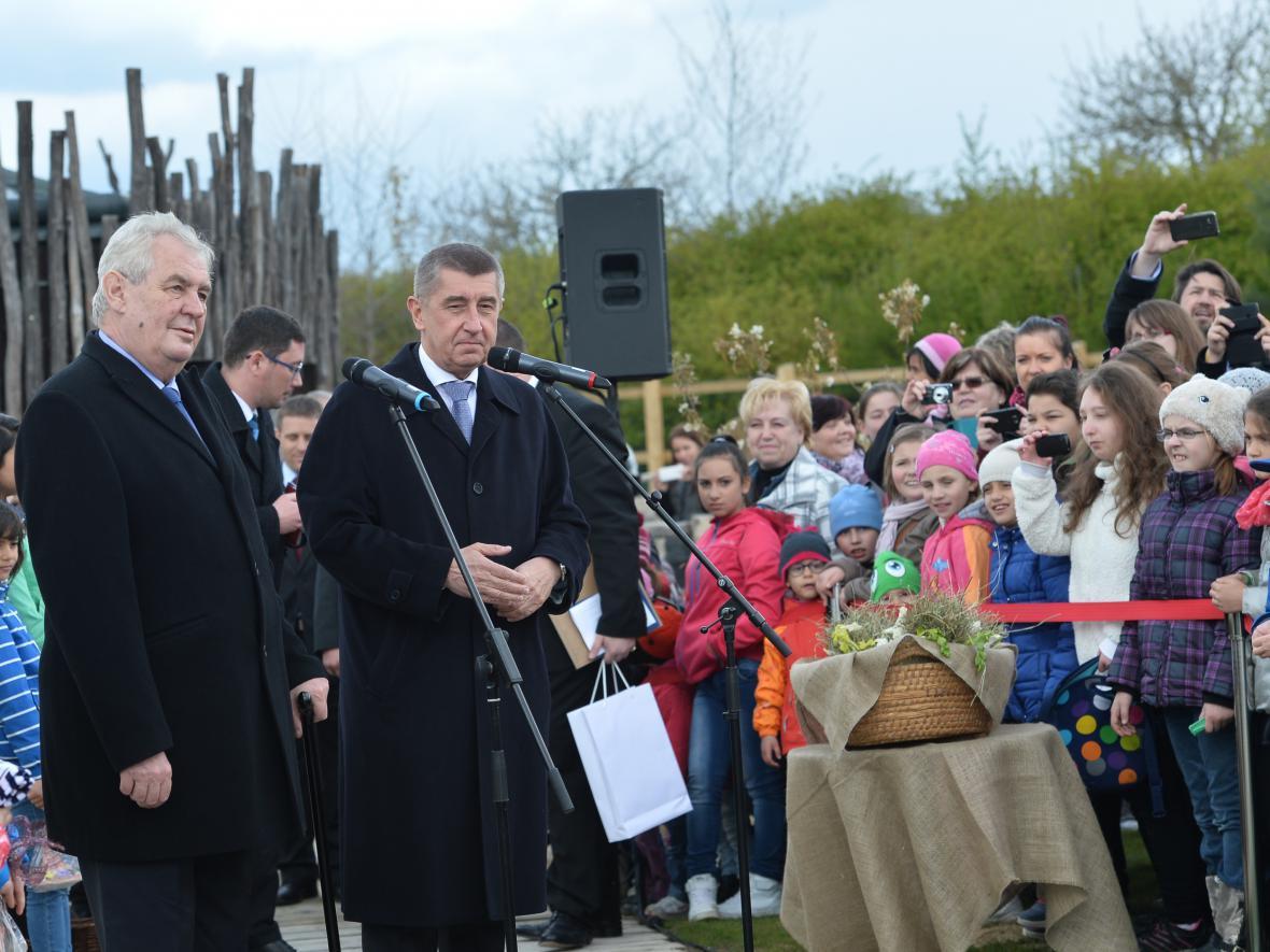 Prezident na návštěvě Čapího hnízda
