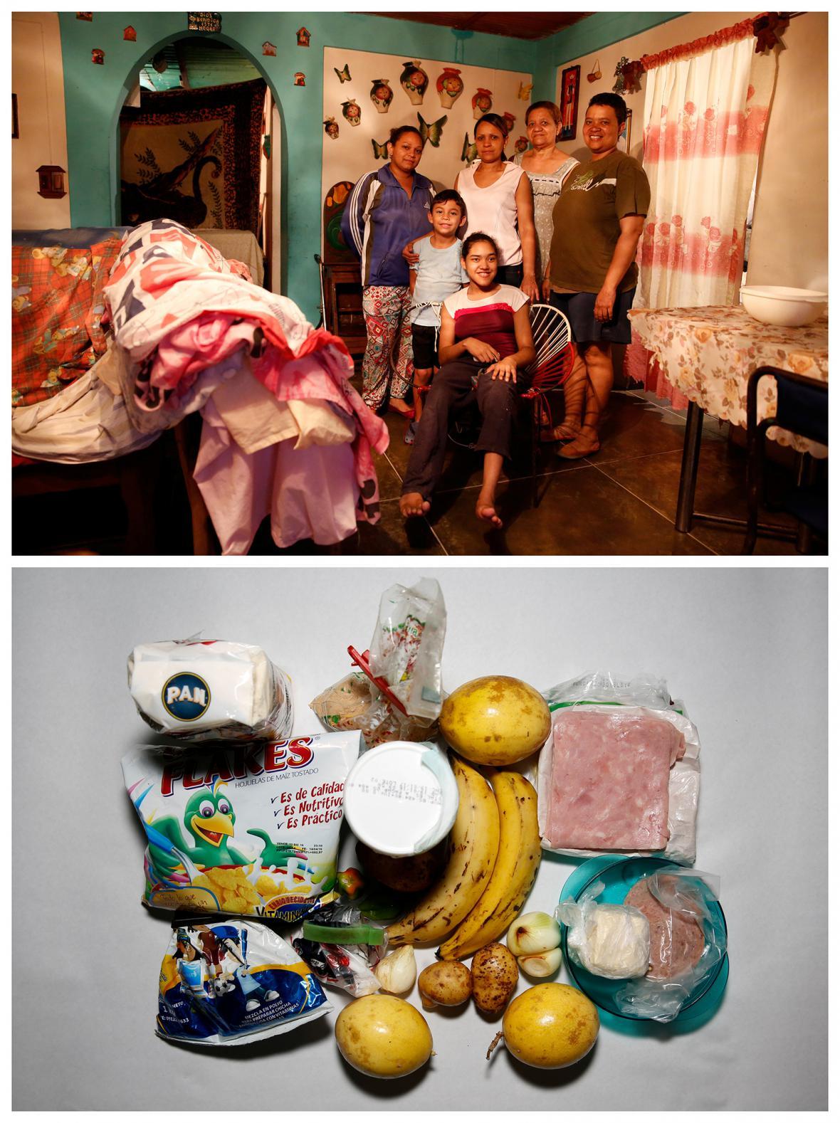 Venezuelská krize: 87 % občanů má problém naplnit ledničku