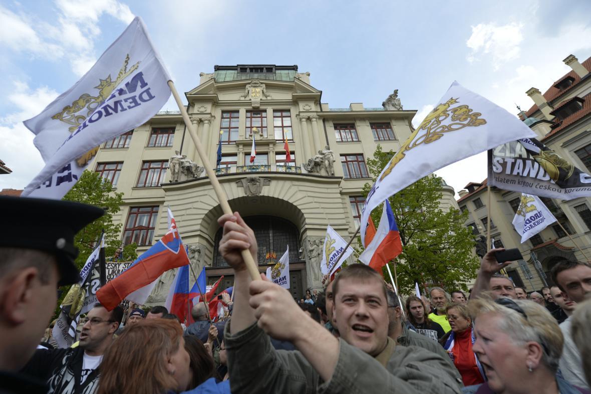 Demonstrace Národní demokracie