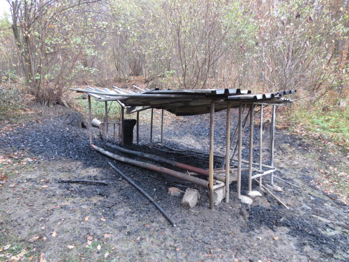 Výsledek řádění žháře na Vyškovsku