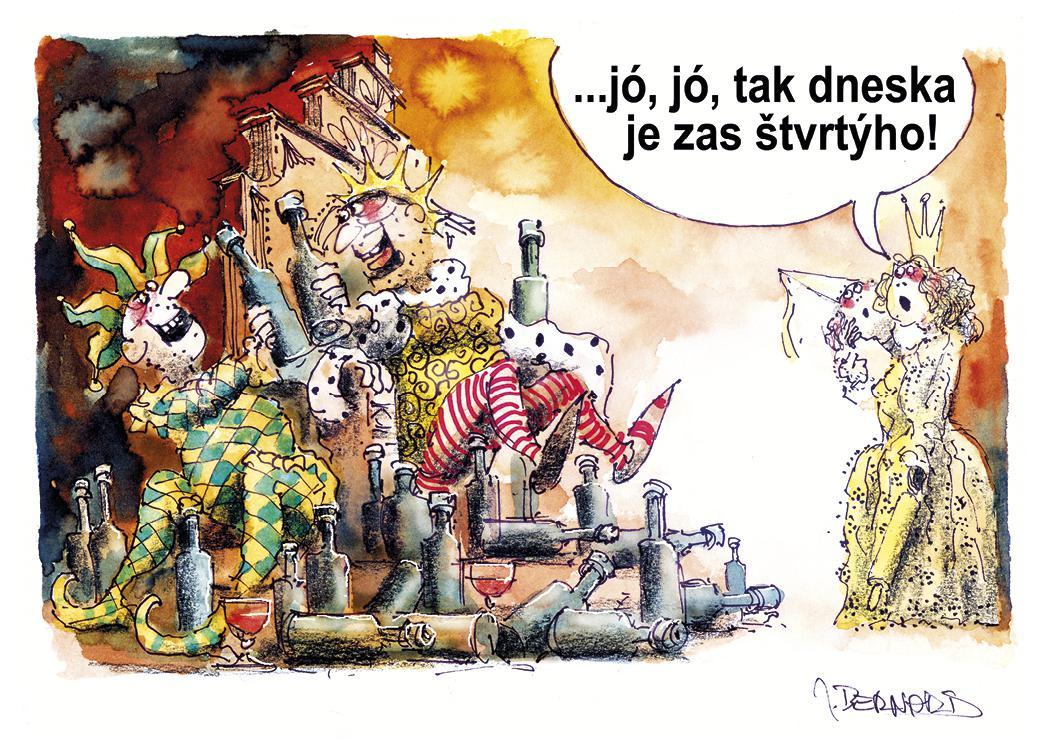 Karikatury Karla IV.