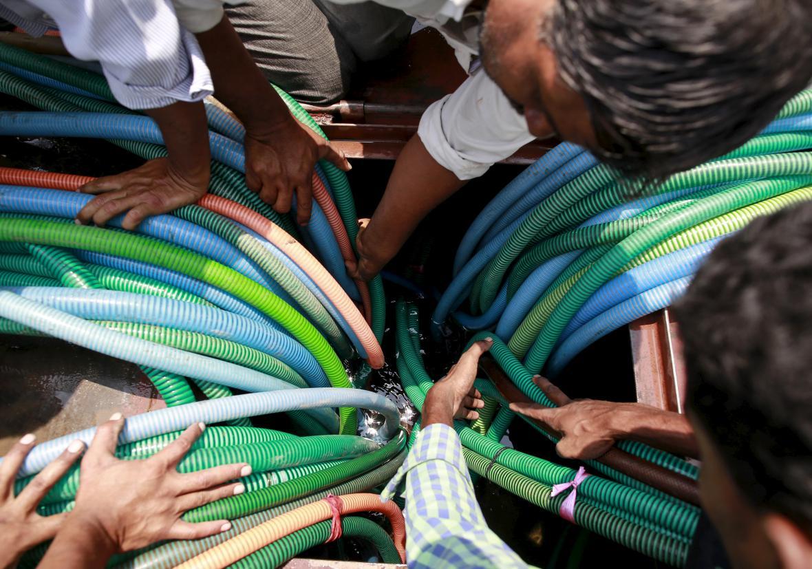 Indie čelí katastrofálního vedru