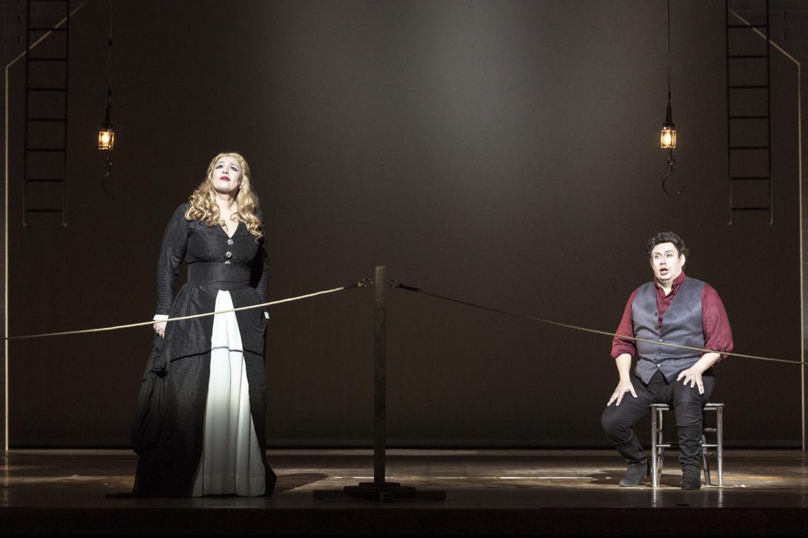 Andrea Chénier v Národním divadle