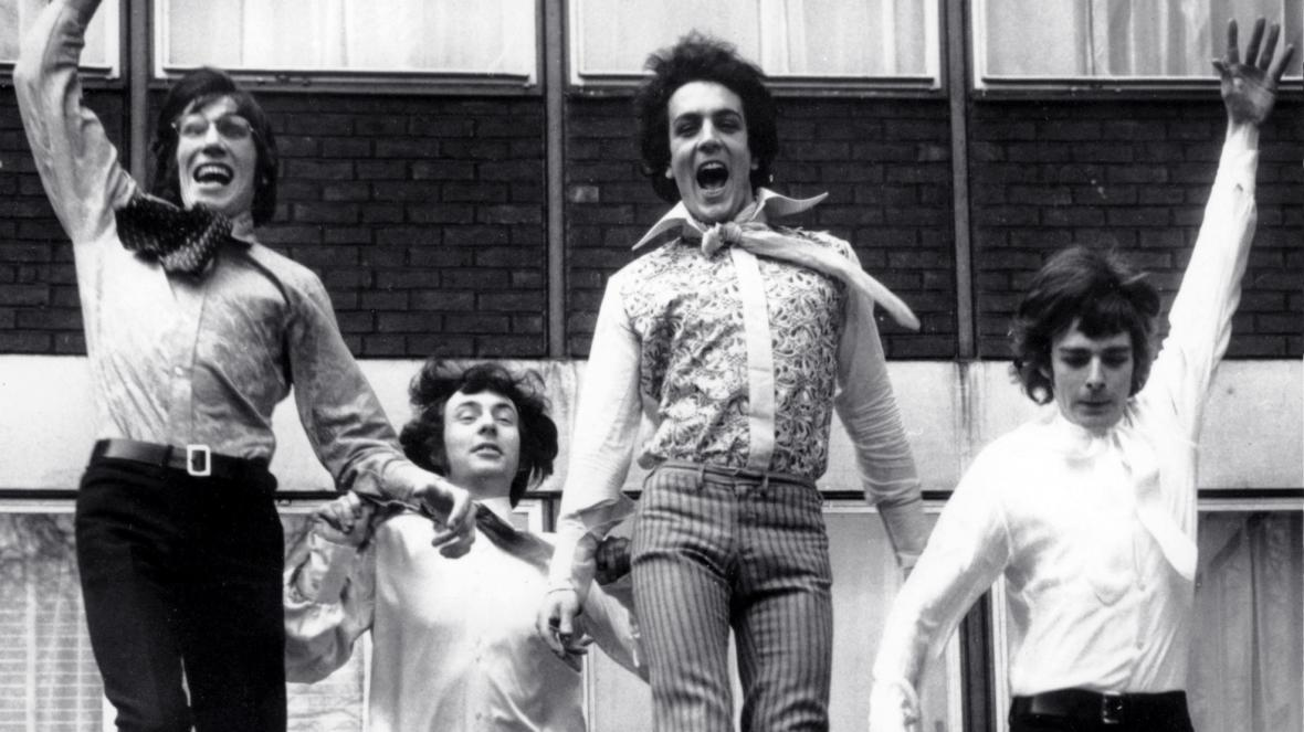 Pink Floyd na snímku z roku 1967