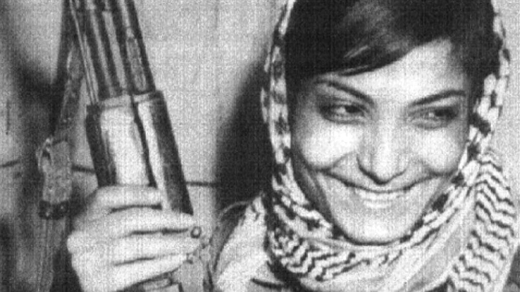 Leila Chalídová na archivní fotografii