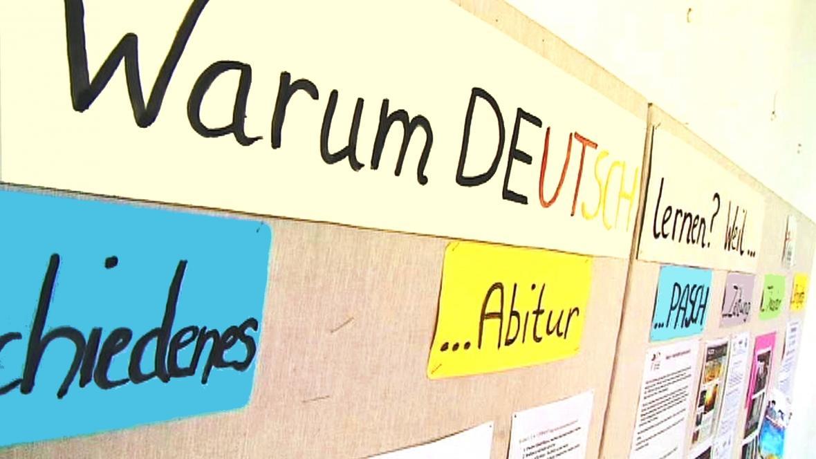 Němčina na školách