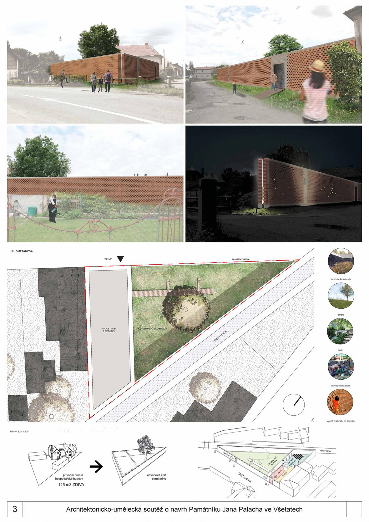 Návrhy na památník Jana Palacha