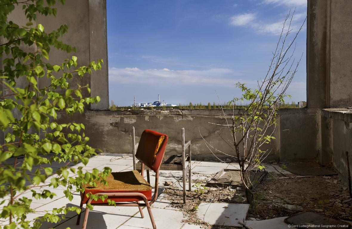 Fotografie z Černobylu
