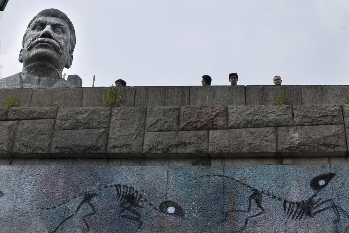 Stalin na Letné