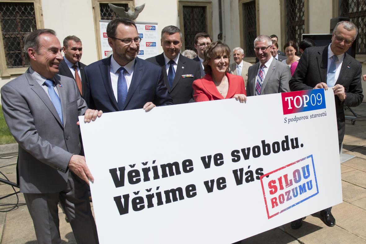 Top 09 zahájila volební kampaň