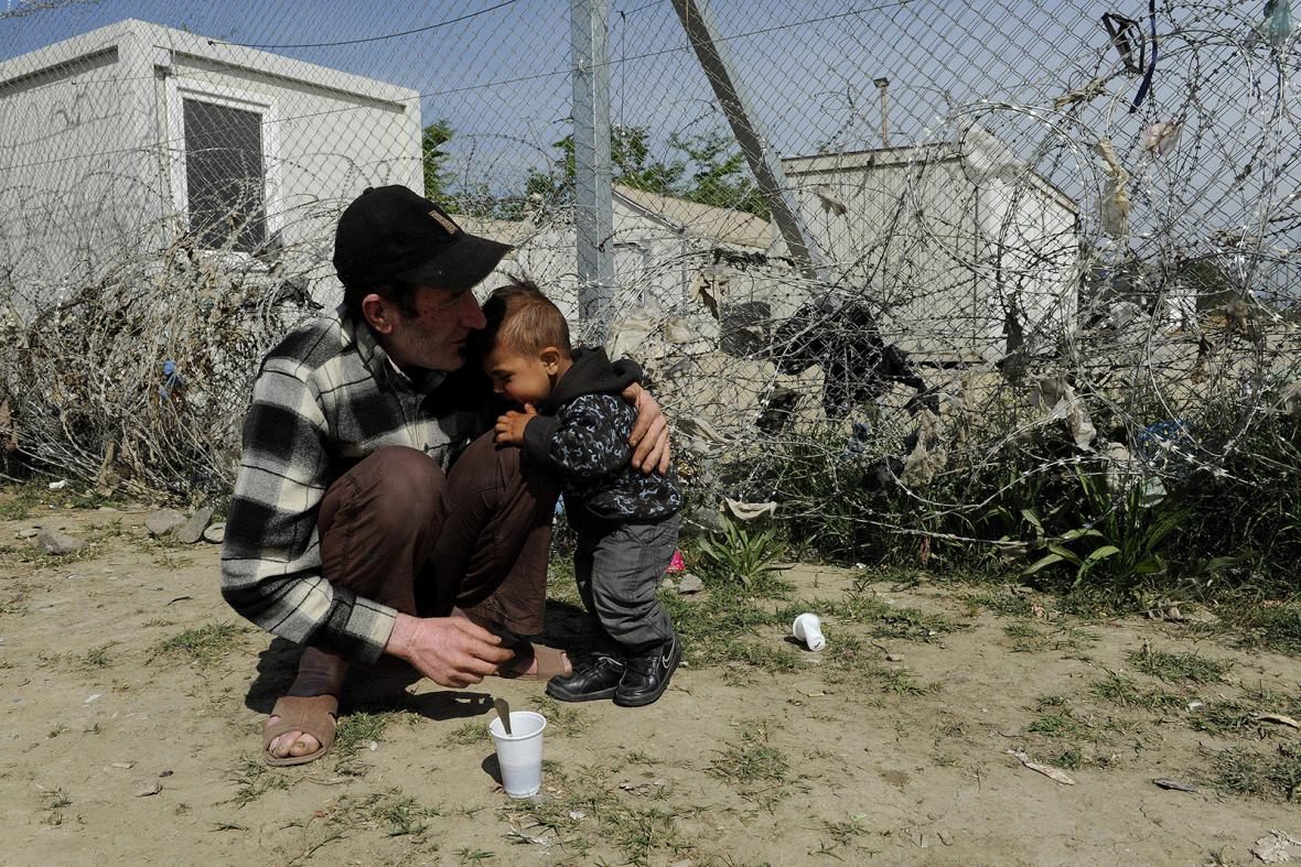 Uprchlický tábor u Idomeni