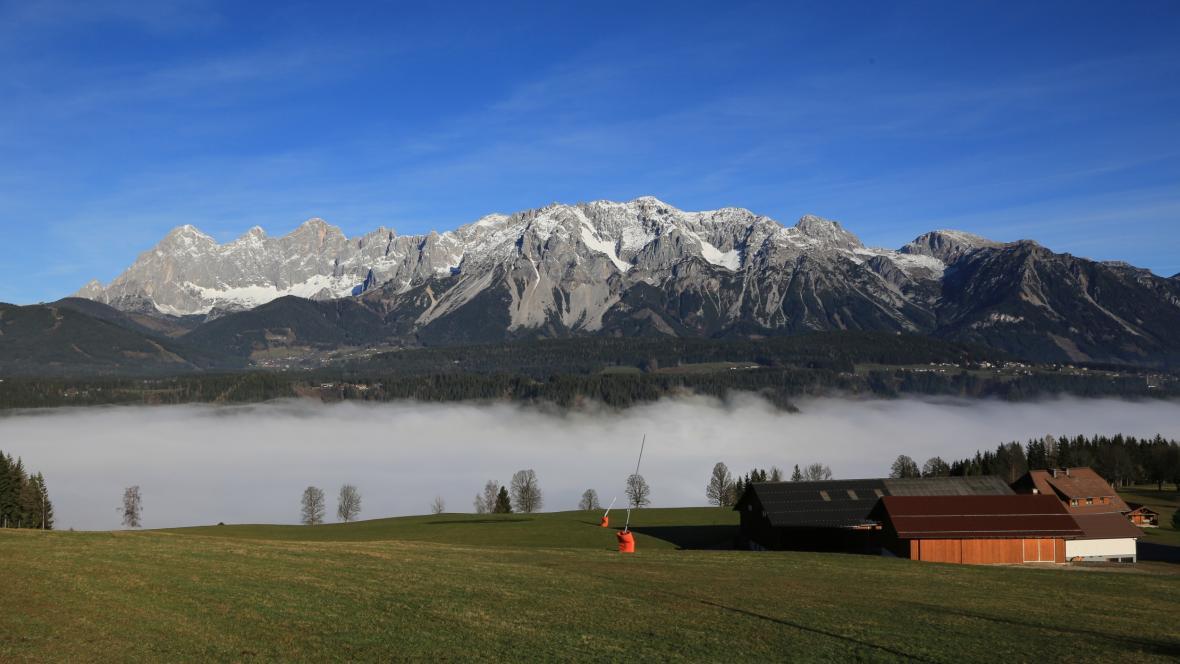 Dachstein v Rakousku